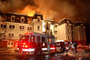 Rahway 1-4-11 : Rahway 4th alarm on Saint Georges Ave at Stone Street on 1-4-11.
