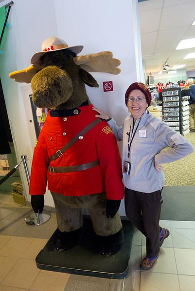 Lois's pet moose