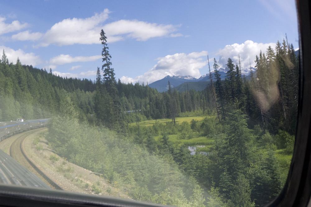 Crossing BC on Canada Rail