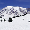 Mt. Rainier from Paradise - so much snow for mid-July!