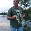 Uncle Dave fishing up north.