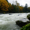 I pulled off at the Skykomish river for a few shots ... This is the boulder drop area.