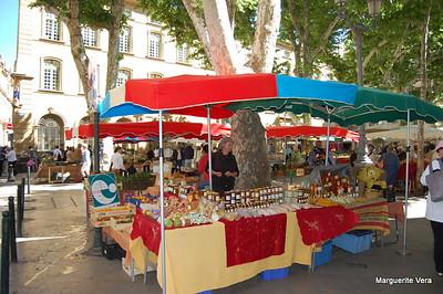 Street Market in