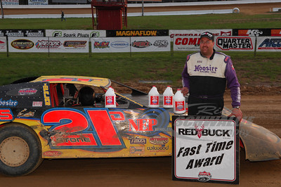 Dan Stone won the Red Buck Cigars Fast Time Award