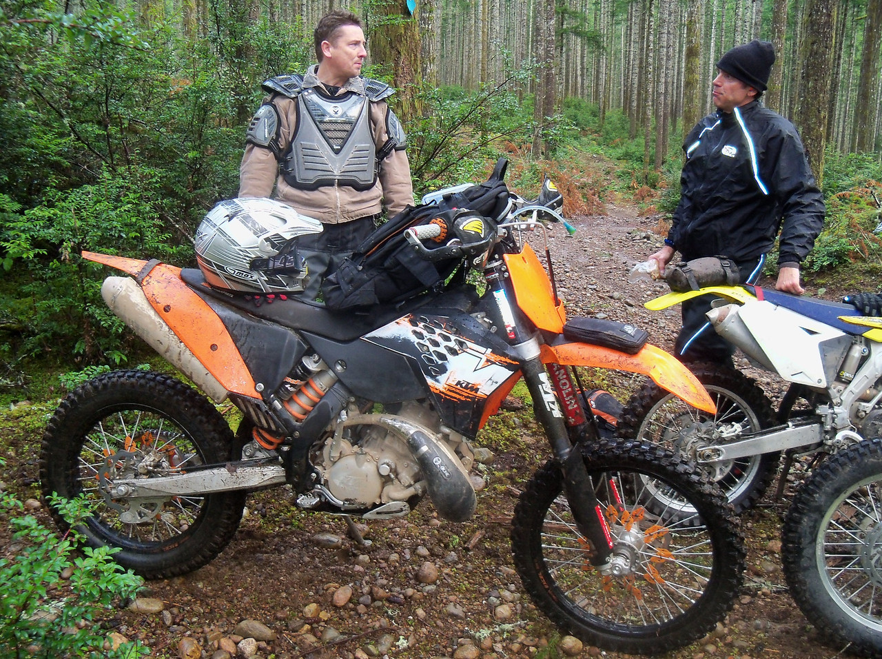 Rod and KTM 200