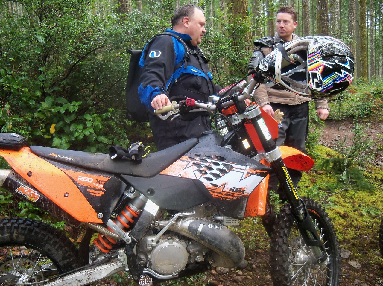 Rory and KTM 250 XC