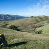 Across rolling hills
