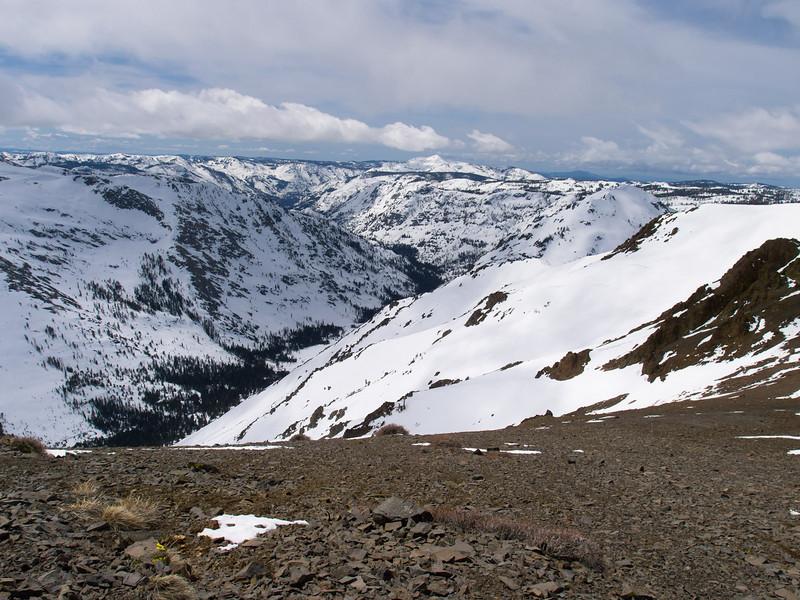 Summit City Creek canyon