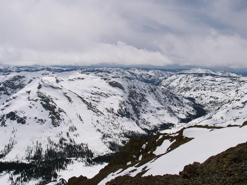 Deadwood Peak and canyon
