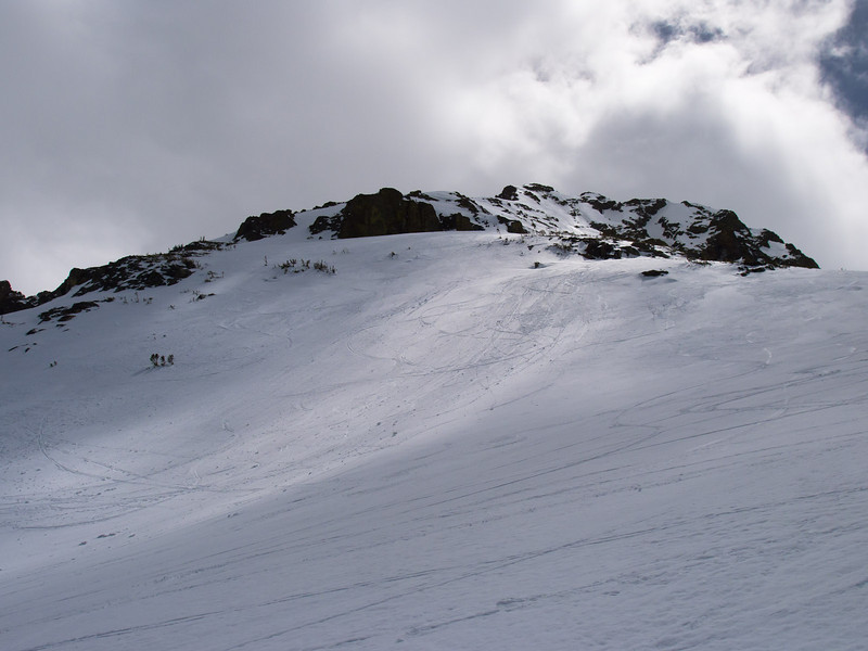 Roundtop from below