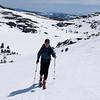 Skiing uphill