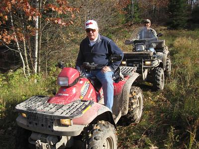 SISTERHOOD ATV TRIP TO COTTAGE  OCT 2011