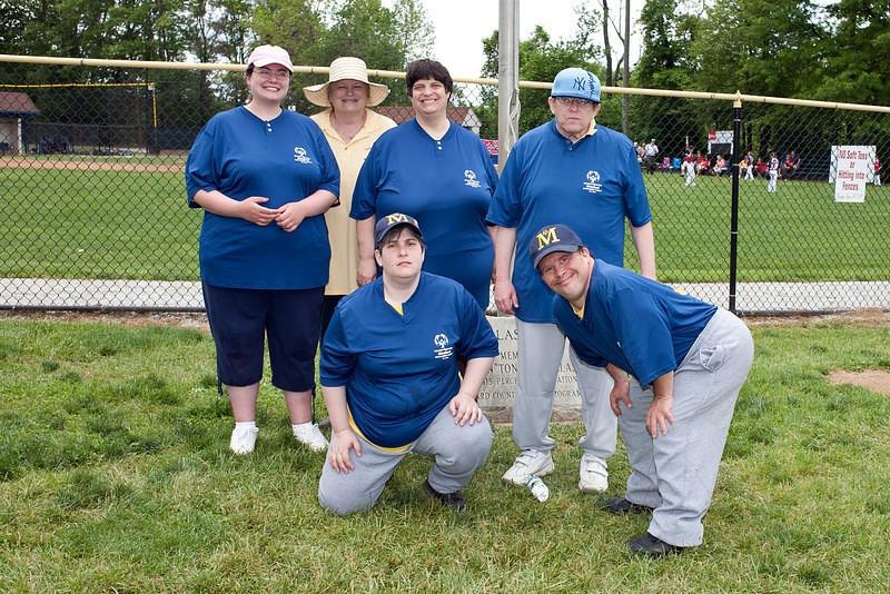 Montgomery County Softball Skills team at Howard County (from HC)