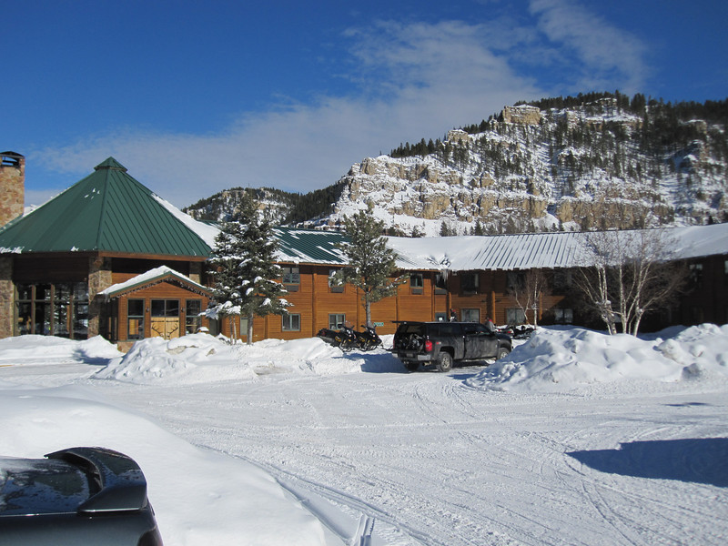 SPEARFISH CANYON LODGE WHERE WE STAYED