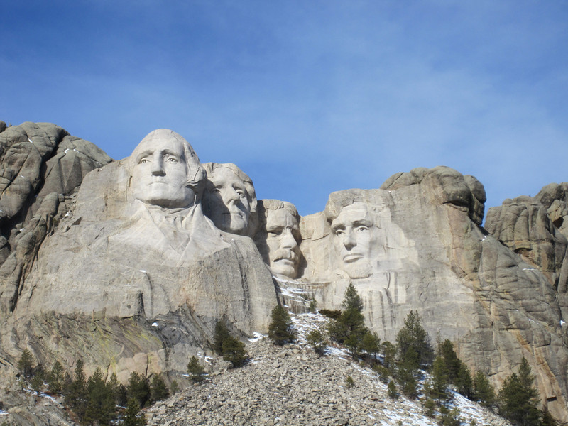 LITTLE SIDE-TRIP WE TOOK ONE DAY TO CUSTER PARK, MOUNT RUSHMORE