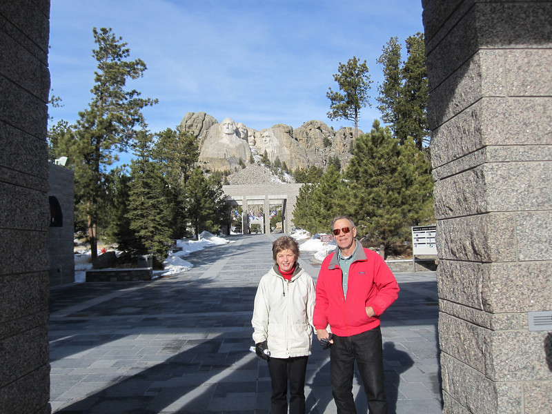 SIDE TRIP TO CUSTER PARK-MOUNT RUSHMORE