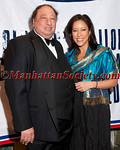 John Catsimatidis,Cindy Hsu attend The Soldiers', Sailors', Marines', Coast Guard and Airmen's Club's 15th Annual Military Ball saluting the United States Coast Guard on Friday, October 14, 2011 at  The Pierre Hotel, 2 East 61st Street at Fifth Avenue, New York City, NY  PHOTO CREDIT: ©Manhattan Society.com/Christopher London