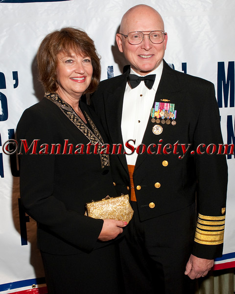 Admiral Robert J. Papp, Jr. and wife  Linda Kapral Papp attend  The Soldiers', Sailors', Marines', Coast Guard and Airmen's Club's 15th Annual Military Ball saluting the United States Coast Guard on Friday, October 14, 2011 at  The Pierre Hotel, 2 East 61st Street at Fifth Avenue, New York City, NY  PHOTO CREDIT: ©Manhattan Society.com/Christopher London
