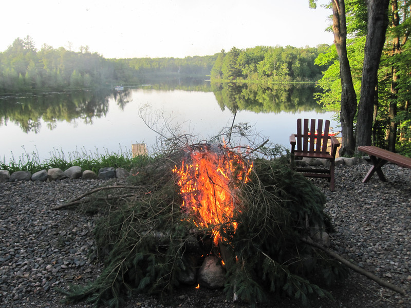 GOTTA HAVE A BONFIRE TO MAKE A WEEKEND SPECIAL