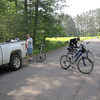 BICYCLING NEAR BIG FALLS