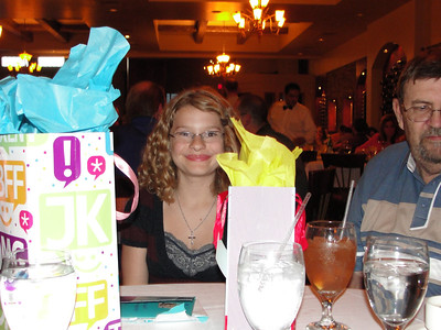 May 2011 - Sage's 12th Birthday
