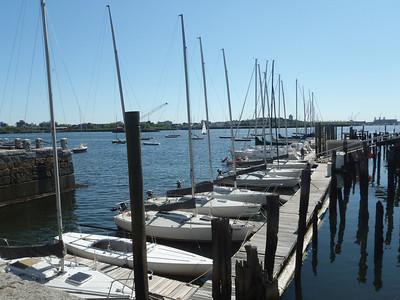 Boston Sailing Center - dock and moorings.