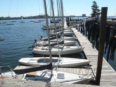 Boston Sailing Center Main Dock.