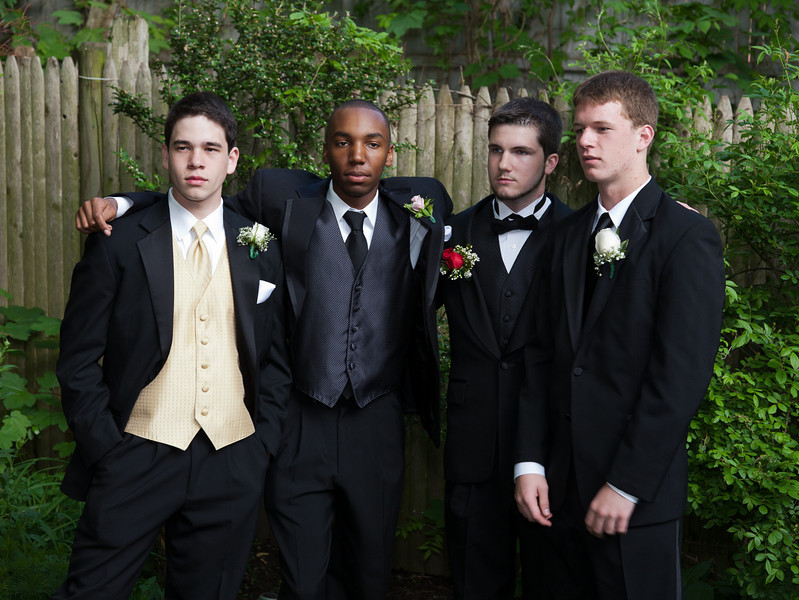 Sergio, Eli, Liam, and Emmett, very serious