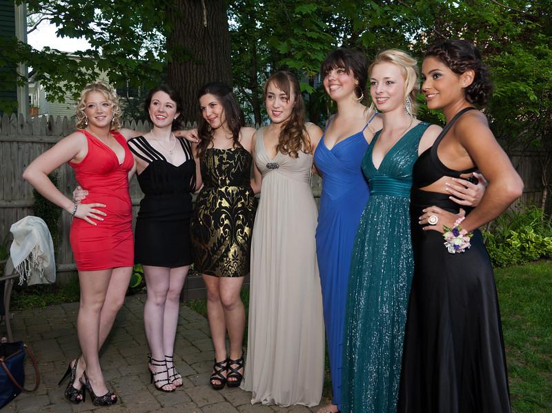 Prina, Kaleen, Rose, Isabel, Natalia, Sophia, and Thalia