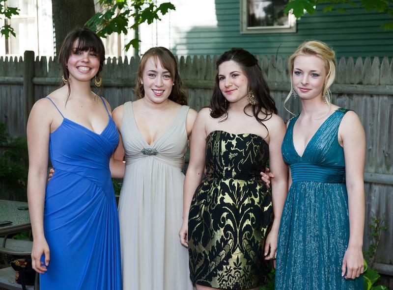 Natalia, Isabel, Rose, and Sophia