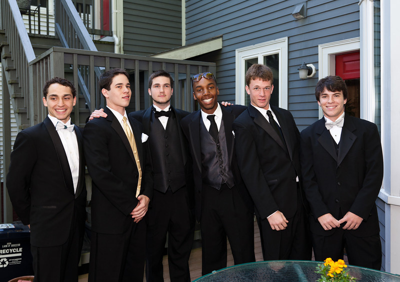 Louie, Sergio, Liam, Eli, Emmett, and Eduardo