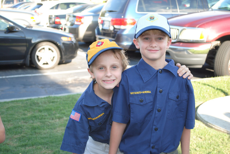 Cub Scout Police outing