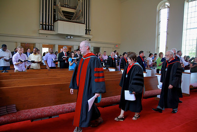 School of Divinity Convocation Luncheon, followed by the Convocation, September 2011.