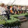 Umpah: A group of musicians perform German music during the opening of the annual Oktoberfest Thursday afternoon.