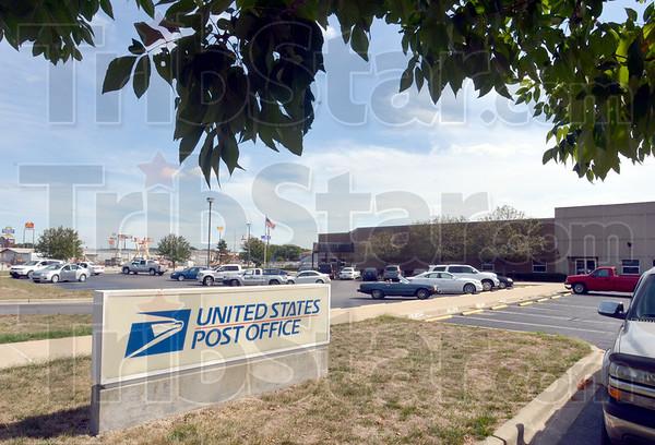 Postal entrance: Main entrance of the Post Office on Margaret Avenue.