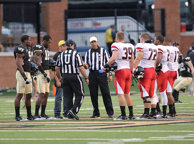 The coin toss.