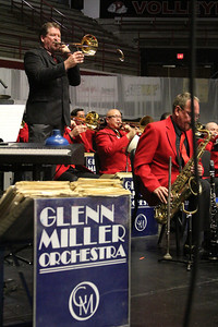The World Famous Glen Miller Orchestra plays at GWU in the LYCC along with swing dancing for any who wished to participate