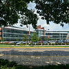 Union Hospital: Front of new Union Hospital 9/11/11.