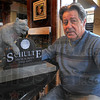 Tribune-Star/Jim Avelis<br /> Backer: Schulte high school graduate Dennis Atterson is one of the organizers behind getting a marker made for his alma mater.