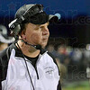 Game face: Northview coach George Gettle show some frustration as his team takes a beating by Bishop Chatard Friday night.
