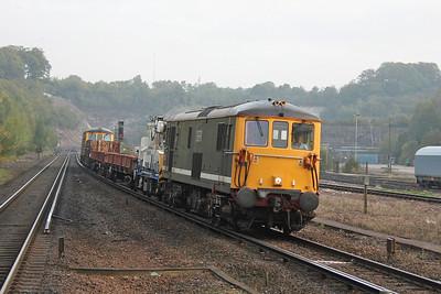 73212 Micheldever 25/09/11 7G16 Queenstown Road to Eastleigh