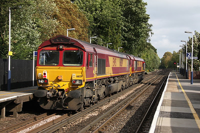 66139 Shawford 25/09/11 0A16 Eastleigh to Didcot with 66046