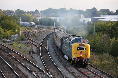 55022 Didcot North Junction 03/09/11 1Z76 Weymouth to Crewe 'The Dorset Deltic Explorer'