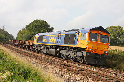 66731 Oakley 24/09/11 6G13 Worting to Eastleigh