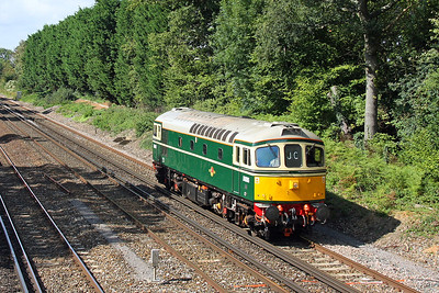 33012 Old Basing 14/09/11 0Z33 Swanage to Barrow Hill