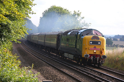 55022 Micheldever 03/09/11 1Z76 Weymouth to Crewe 'The Dorset Deltic Explorer'