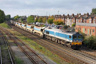 59004 Eastleigh 25/09/11 6N12 Chard Junction to Eastleigh
