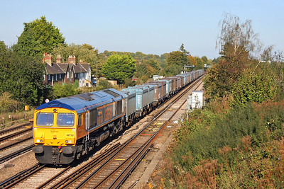 66731 Worting Junction 28/09/11 4Y19 Mountfield to Southampton
