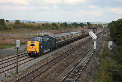 55022 Didcot East Junction 03/09/11 1Z76 Weymouth to Crewe 'The Dorset Deltic Explorer'