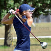 Driven: Rachel Welker watcher her drive from the 10th tee at Forest Park in Brazil Saturday mornng during sectional play.